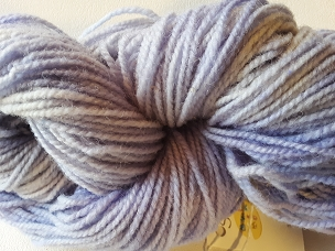 Violet Varigated Worsted Weight Yarn