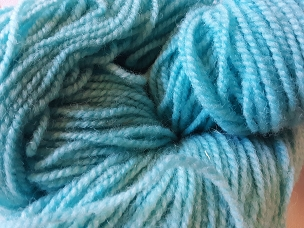 Turquoise Worsted Weight Yarn