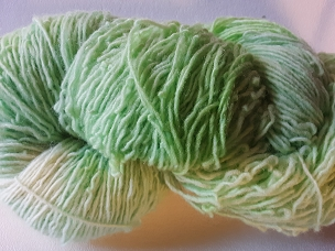 Pair of Sox Light Green Sock Weight Yarn