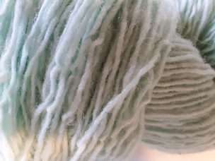 Pair of Sox Mint Blue Sock Weight Yarn