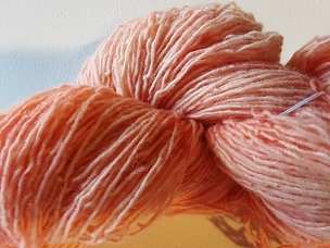 Pair of Sox Salmon Varigated Sock Weight Yarn