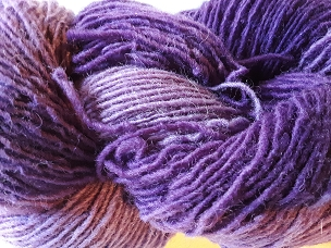 Pair of Sox Shades of Purple Sock Weight Yarn