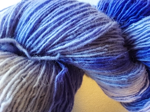 Pair of Sox Shades of Violet Sock Weight Yarn