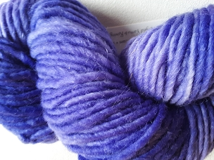 Violet Bulky Weight Yarn