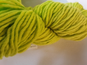 Lime Bulky Weight Yarn