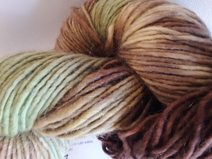 Autumn Leaves Single Worsted Weight Yarn