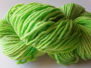 Lime Single Weight Yarn