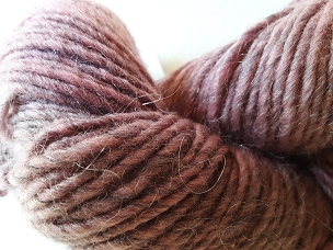 Crimson Over Gray Single Weight Yarn