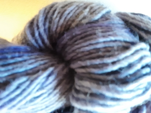 Violet Over Gray Single Weight Yarn