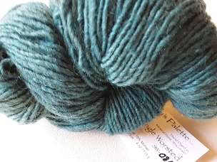 Teal Over Gray Single Weight Yarn